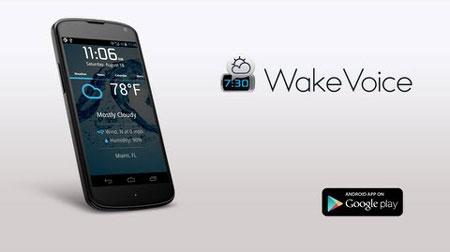 WakeVoice – vocal alarm clock 6.0.11 دانلود نرم افزار ساعت زنگ دار صوتی