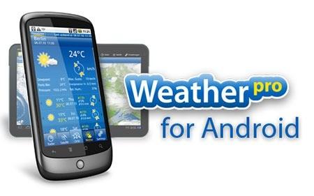 WeatherPro Premium 4.8.2 پیش بینی وضعیت آب و هوا اندروید