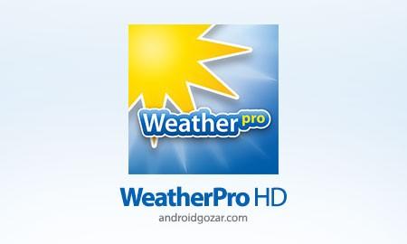 WeatherPro HD for Tablet Premium 3.3.1 پیش بینی آب و هوا