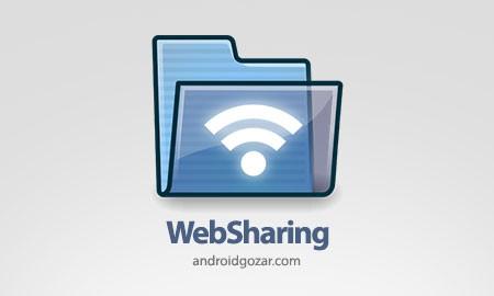 WebSharing (WiFi File Manager) 2.0.1.0 دانلود نرم افزار مدیریت و انتقال فایل با WiFi