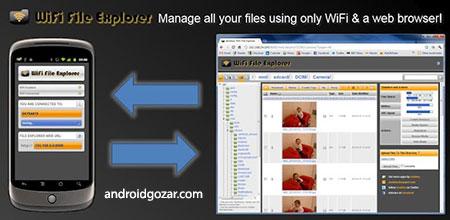 WiFi File Explorer PRO 1.11.0 مدیریت فایل بین گوشی و کامپیوتر با WiFi