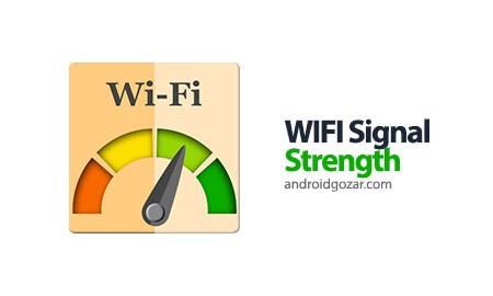 WIFI Signal Strength Premium 9.3.1 دانلود نرم افزار قدرت سیگنال WiFi