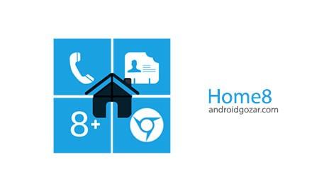 Home8+ like Windows 8 Launcher 4.0 دانلود لانچر ویندوز 8