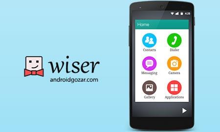 Wiser – Simple Launcher 1.30.8 دانلود لانچر ساده
