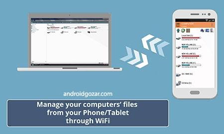 WiFi PC File Explorer Pro 1.5.22 دانلود نرم افزار کنترل کامپیوتر و فایل ها از راه دور
