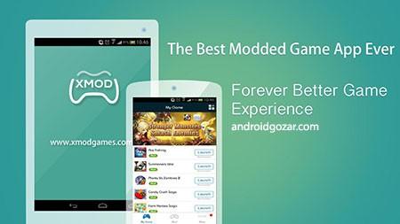 Xmodgames 2.3.5 دانلود نرم افزار هک و تقلب در بازی های اندروید
