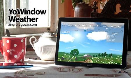 YoWindow Weather 1.26.9 دانلود نرم افزار وضعیت آب و هوا اندروید