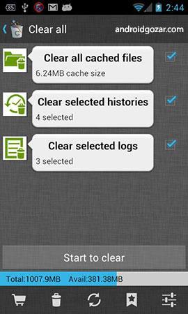 دانلود 1Tap Cleaner Pro 3.84 برنامه پاکسازی حافظه اندروید