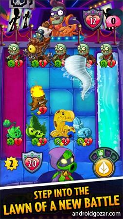 دانلود Plants vs. Zombies Heroes 1.34.5 بازی قهرمانان گیاهان و زامبی ها اندروید+مود