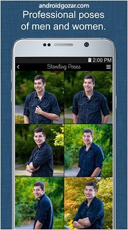 Portrait Photography Poses Pro 1.1.4 دانلود نرم افزار ژست عکاسی و مدلینگ