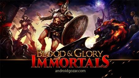BLOOD & GLORY: IMMORTALS 2.0.0 دانلود بازی خون و افتخار: جاودانه+مود+دیتا