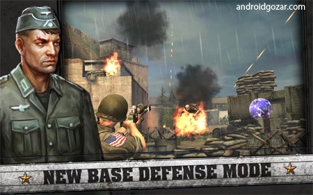 FRONTLINE COMMANDO D-DAY 3.0.4 دانلود بازی تکاور خط مقدم اندروید + مود