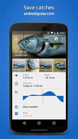 Fishing Points Premium 2.6.8 دانلود نرم افزار یافتن بهترین مناطق ماهیگیری اندروید