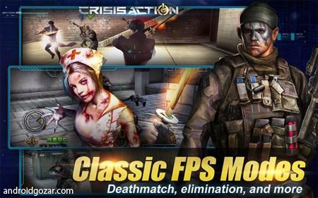 Crisis Action 3.0.6 دانلود بازی تیراندازی کرایسیس اکشن اندروید