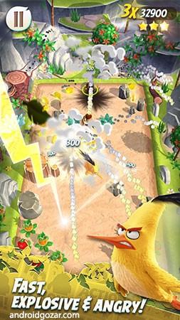 Angry Birds Action! 2.6.2 دانلود بازی پرندگان خشمگین اکشن+مود+دیتا