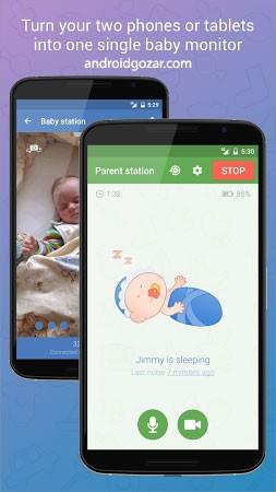 Baby Monitor 3G 5.1.1 دانلود نرم افزار نظارت بر کودک