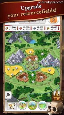 Travian Kingdoms 1.2.8033 دانلود بازی امپراطوری تراوین اندروید