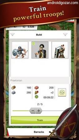 Travian Kingdoms 1.2.7923 دانلود بازی امپراطوری تراوین اندروید
