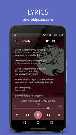 Pixel+ – Music Player 3.7.2 دانلود نرم افزار موزیک پلیر قدرتمند