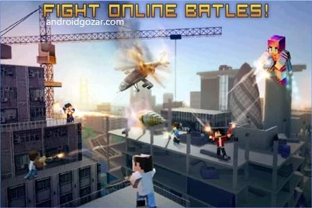 دانلود Block City Wars 7.2.3 – بازی جنگ شهر پیکسلی اندروید + مود