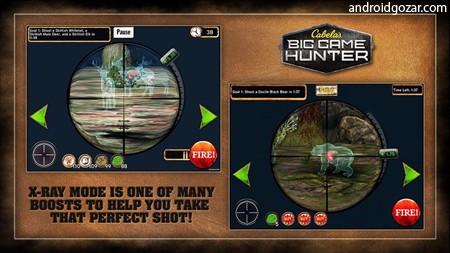 Cabela's Big Game Hunter 1.2.1 دانلود بازی شکارچی+مود+دیتا