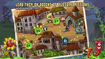 Zombie Harvest 1.1.10 دانلود بازی زامبی کشی اندروید + مود