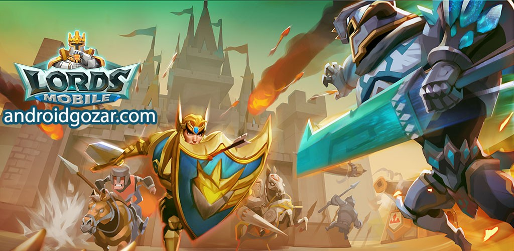 Lords Mobile 1.95 دانلود بازی استراتژی پادشاهان موبایل اندروید + مود