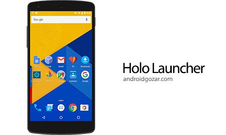 Holo Launcher Plus 3.1.2 دانلود لانچر مارشمالو برای اندروید 4.1+