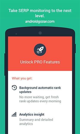 SEO SERP mojo Pro – Rank Tracker 2.29.0 بررسی رتبه سایت در نتایج جستجو