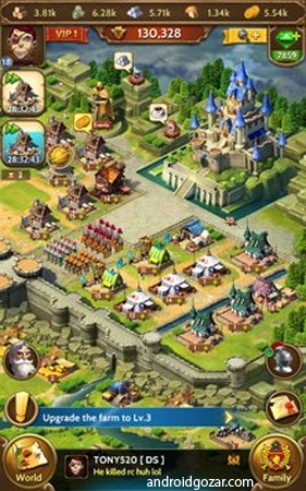 Royal Empire: Realm of War 1.7.9 دانلود بازی امپراتوری سلطنتی: قلمرو جنگ