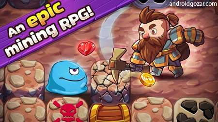 Mine Quest 2 2.2.1 دانلود بازی جستجوی معدن 2 اندروید + مود