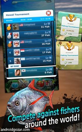 Ace Fishing: Wild Catch 4.1.3 دانلود بازی ماهیگیری اندروید