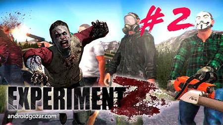 Experiment Z – Zombie Survival 3.2 دانلود بازی آزمایشگاه زد – بقای زامبی+مود+دیتا