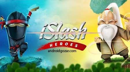 iSlash Heroes 1.6.7 دانلود بازی قهرمانان برش اندروید + مود