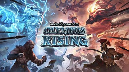 دانلود Olympus Rising 6.1.3 بازی توسعه کوه المپ اندروید