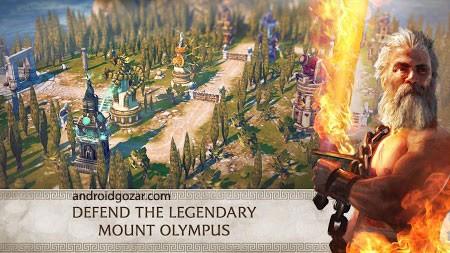 Olympus Rising 5.1.1 دانلود بازی اکشن توسعه کوه المپ اندروید