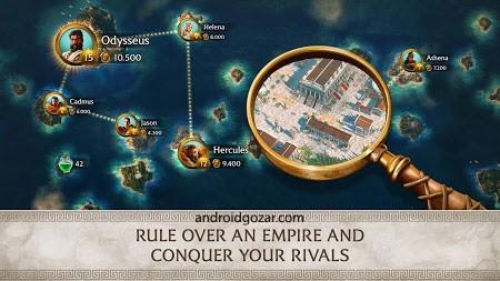 دانلود Olympus Rising 5.4.1 بازی توسعه کوه المپ اندروید