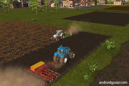دانلود Farming Simulator 16 1.1.2.6 بازی شبیه ساز کشاورزی اندروید + مود + دیتا