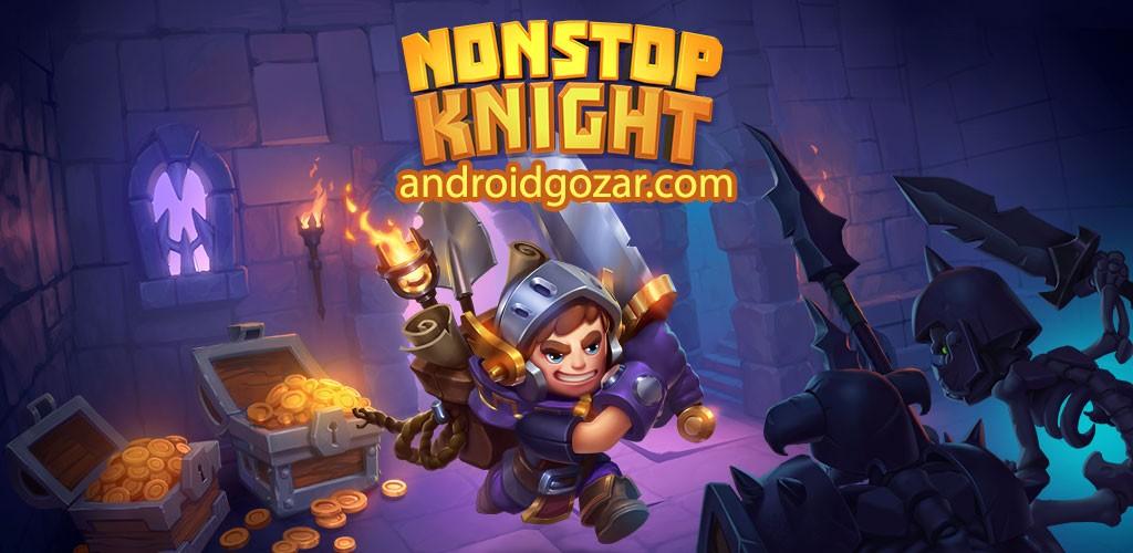 Nonstop Knight 2.8.0 دانلود بازی شوالیه بدون توقف اندروید + مود