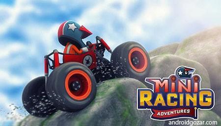 Mini Racing Adventures 1.20 دانلود بازی ماشین سواری چند نفره اندروید + مود