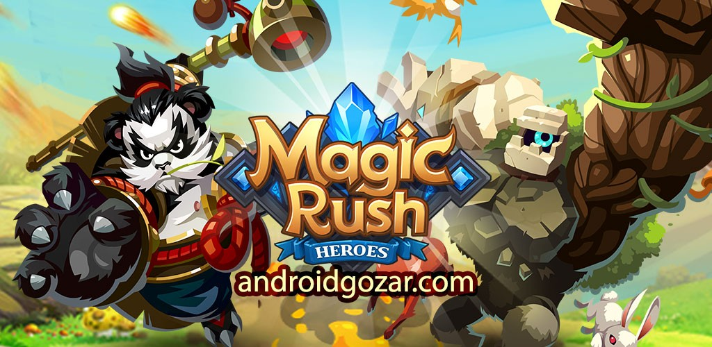 Magic Rush: Heroes 1.1.129 دانلود بازی هجوم جادویی: قهرمانان اندروید