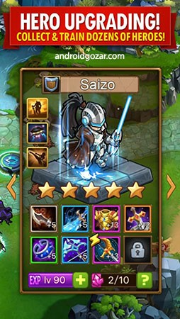 دانلود Magic Rush: Heroes 1.1.308 – بازی هجوم جادویی قهرمانان اندروید