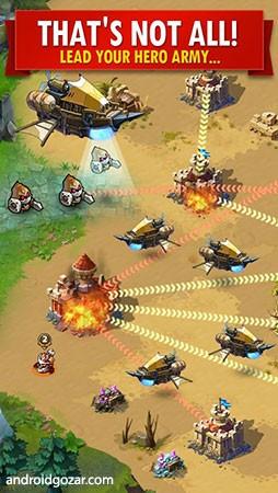 دانلود Magic Rush: Heroes 1.1.243 – بازی هجوم جادویی قهرمانان اندروید