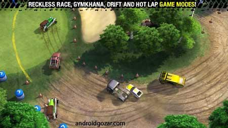 Reckless Racing 3 1.2.0 دانلود بازی مسابقه بی پروا 3+مود+دیتا