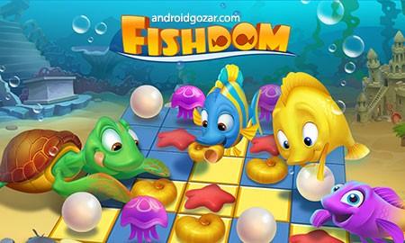 Fishdom 2.7.8 دانلود بازی شیرجه به اعماق دریا اندروید + مود