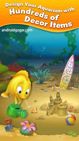 دانلود Fishdom 5.82.0 – بازی شیرجه به اعماق دریا اندروید + مود