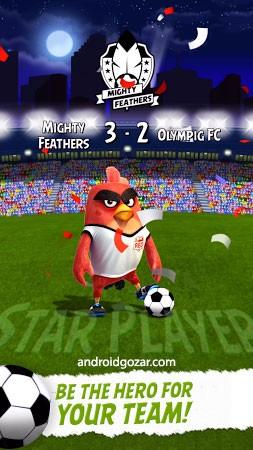Angry Birds Goal! 0.4.14 دانلود بازی فوتبال پرندگان خشمگین + مود