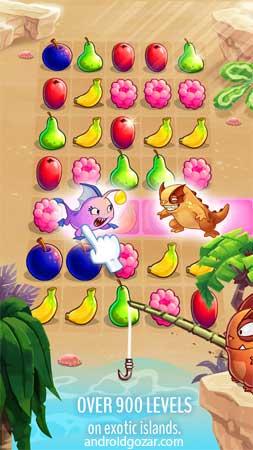 Fruit Nibblers 1.22.9 دانلود بازی پازل تطبیق میوه نیبلرز اندروید + مود