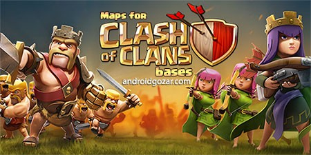 Maps of Clash Of Clans 1.25 دانلود مپ های کلش اف کلنز