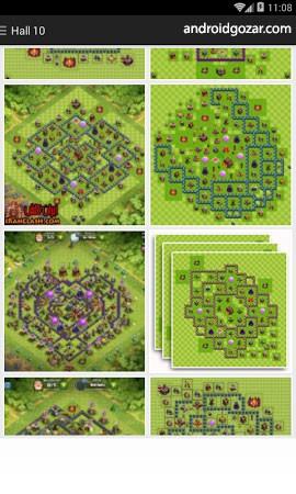Maps of Clash Of Clans 1.25 – دانلود مپ های کلش اف کلنز